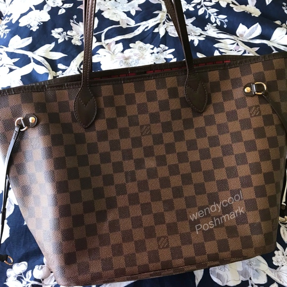 961208ca0629 Louis Vuitton Handbags - Louis Vuitton Neverfull MM Damier Ebene Tote bag